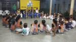 Formado Mororó na Roda de Capoeira na Escola Marista - Projeto do SESC