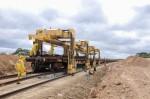Obras da Ferrovia Transnordestina( Foto: Marcelo Cardoso)