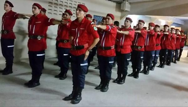 alunos bombeiros